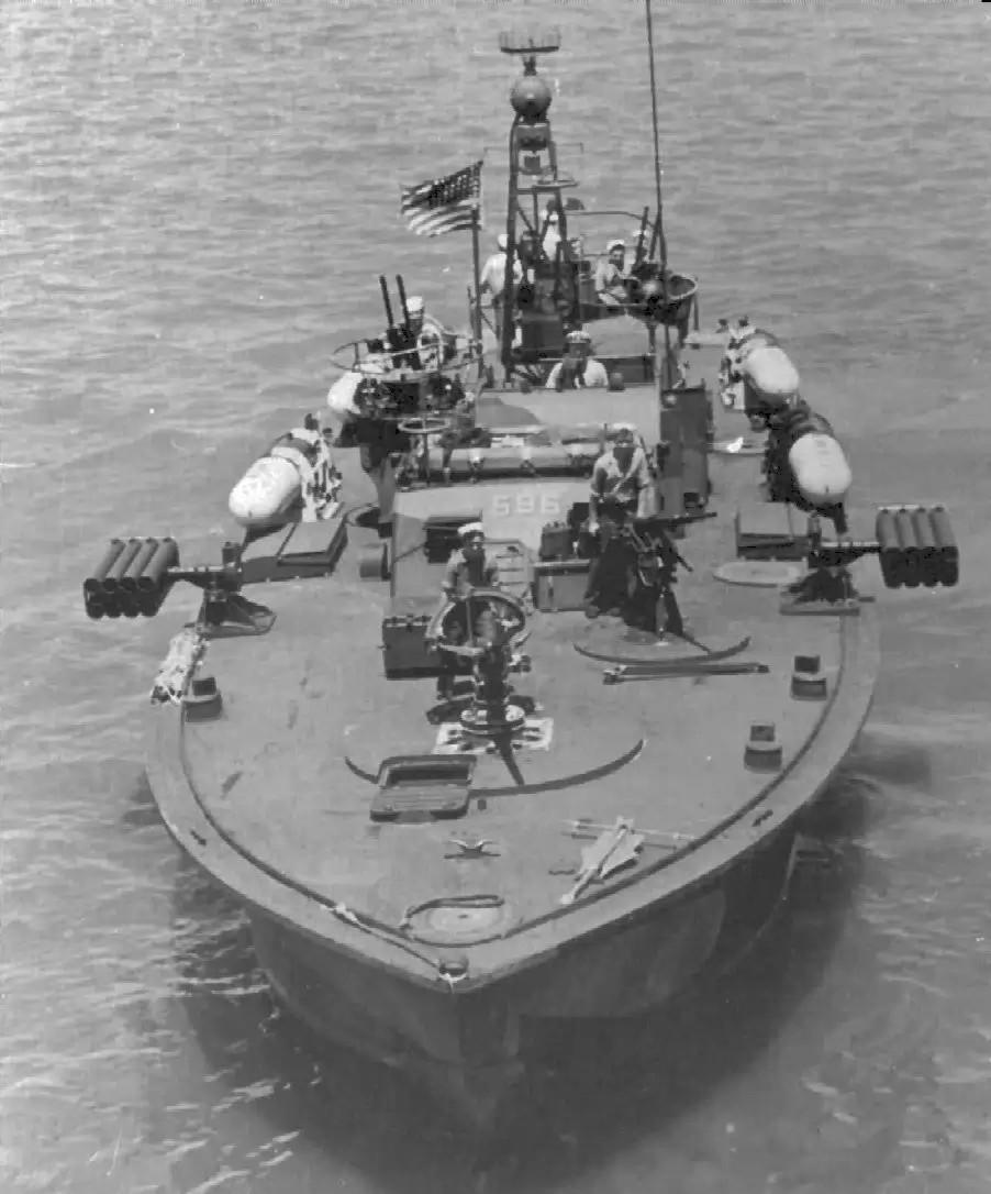 американские военные лодки во время войны